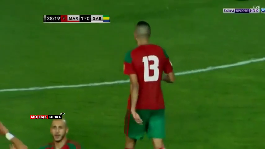 Марокко - Габон 3:0 видео