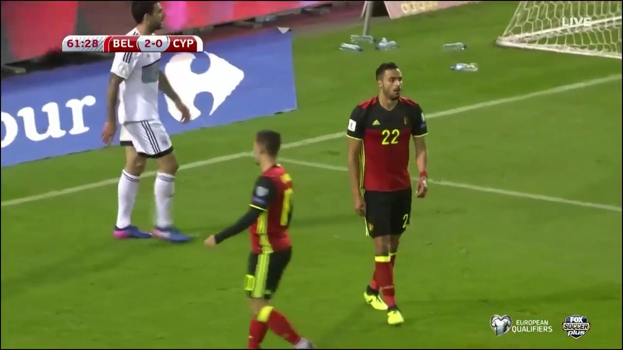 Бельгия - Кипр 4:0 видео