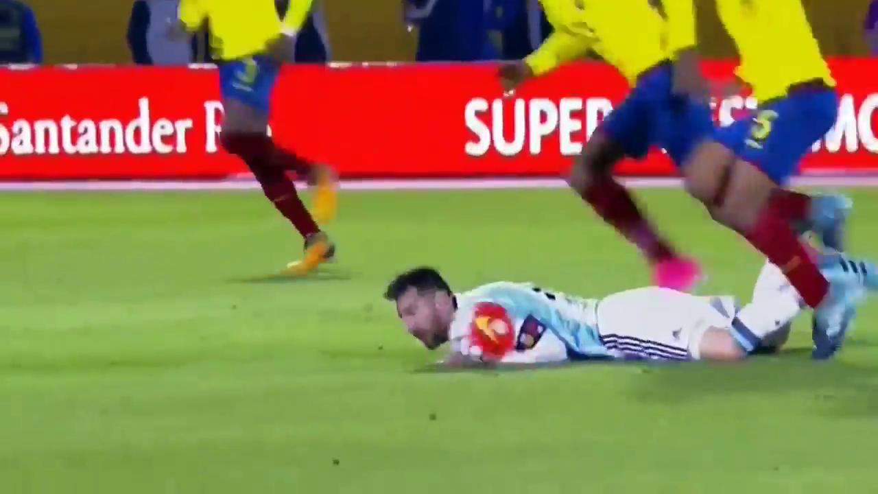 Эквадор - Аргентина 1:3 видео