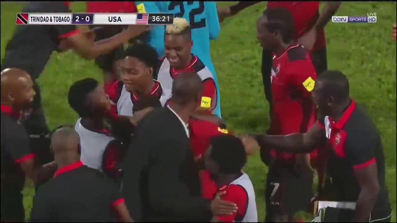 Тринидад и Тобаго - США 2:1 видео