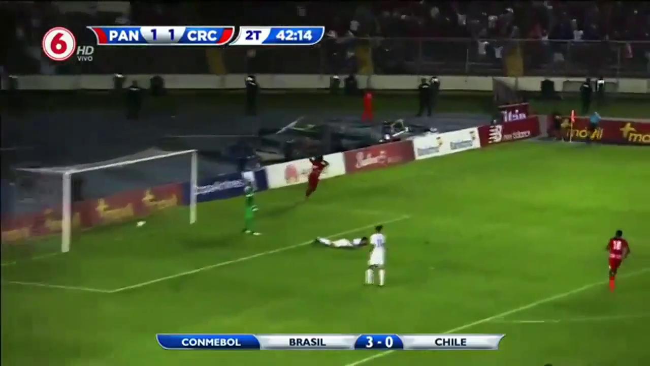 Панама - Коста-Рика 2:1 видео