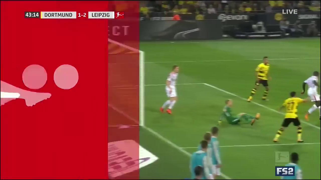 Боруссия Дортмунд - Лейпциг 2:3 видео