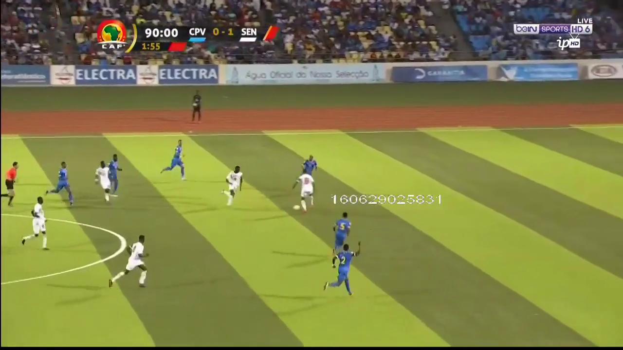 Кабо-Верде - Сенегал 0:2 видео