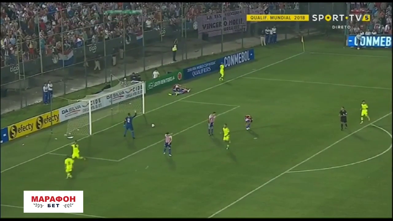 Парагвай - Венесуэла 0:1 видео