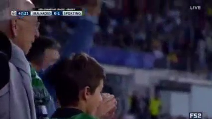 Real Madrid Sporting Lisbon goals and highlights