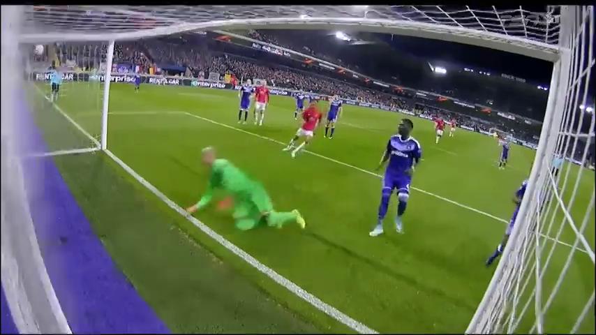 Андерлехт - Манчестер Юнайтед 1:1 видео