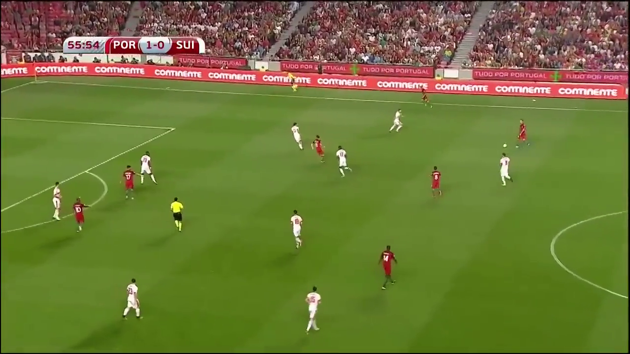 Португалия - Швейцария 2:0 видео