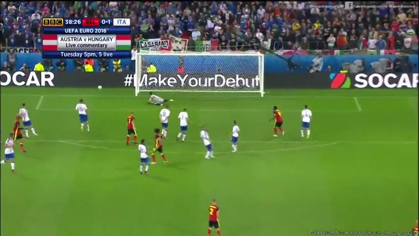 Бельгия - Италия 0:2 видео
