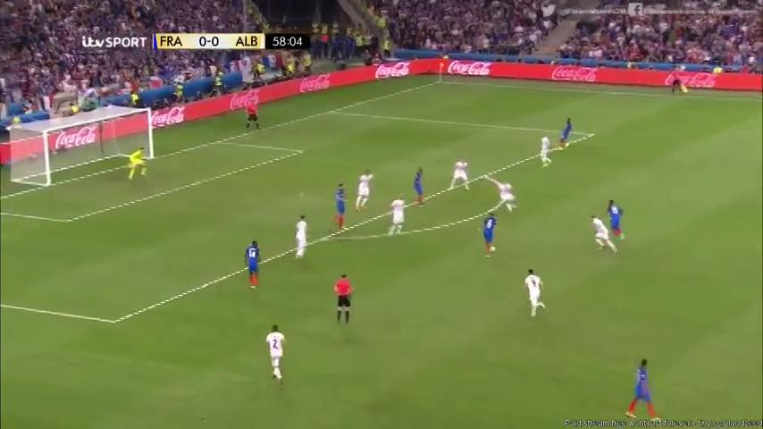 Франция - Албания 2:0 видео
