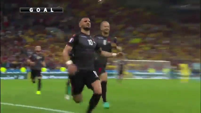 Румыния - Албания 0:1 видео