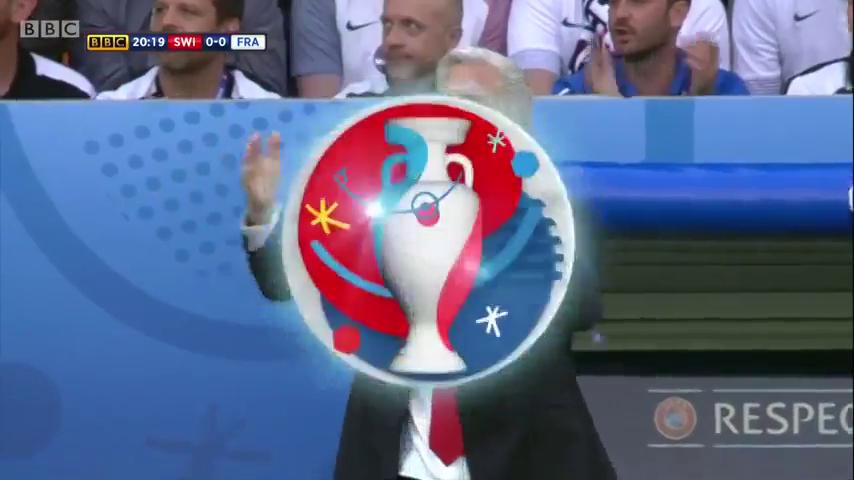 Швейцария - Франция 0:0 видео