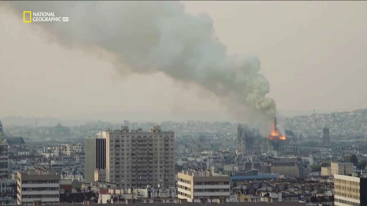 Notre Dame Versenyfutás a lángokkal