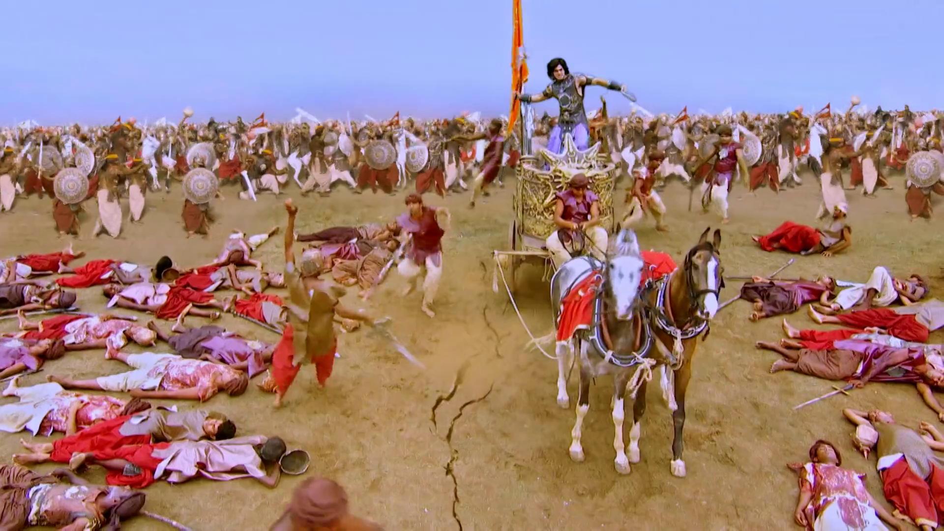 Mahabharata  felirattal 267/220.