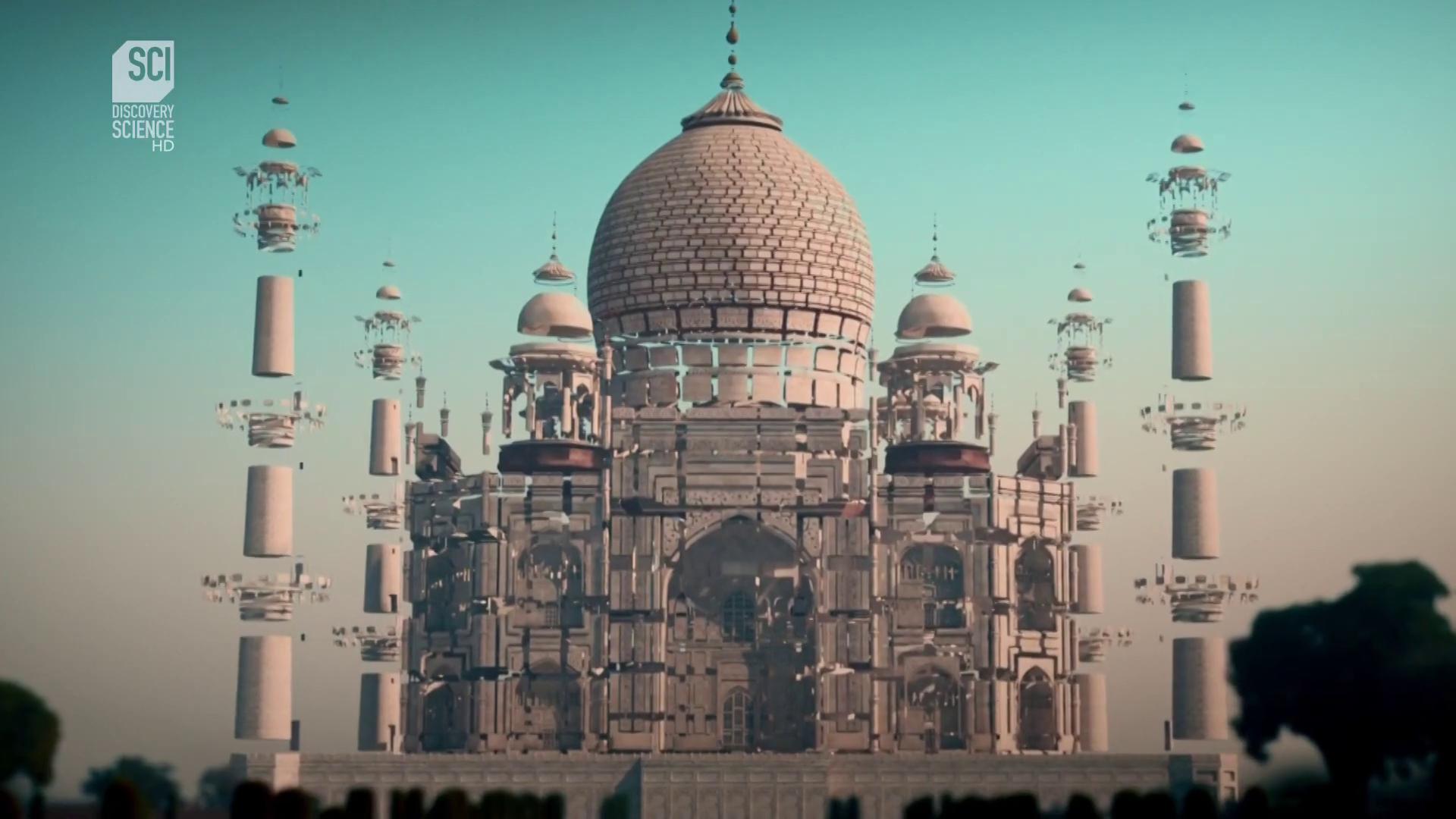 Monumentális történelem.Tádzs Mahal