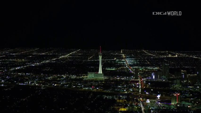 Las Vegas,madártávlatból