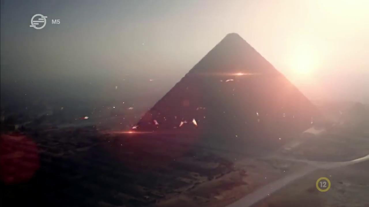 A Piramisok, ahogyan még nem láttad!