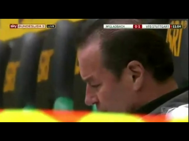 Borussia M'gladbach 1-1 Stuttgart - Golo de D. Didavi (12min)