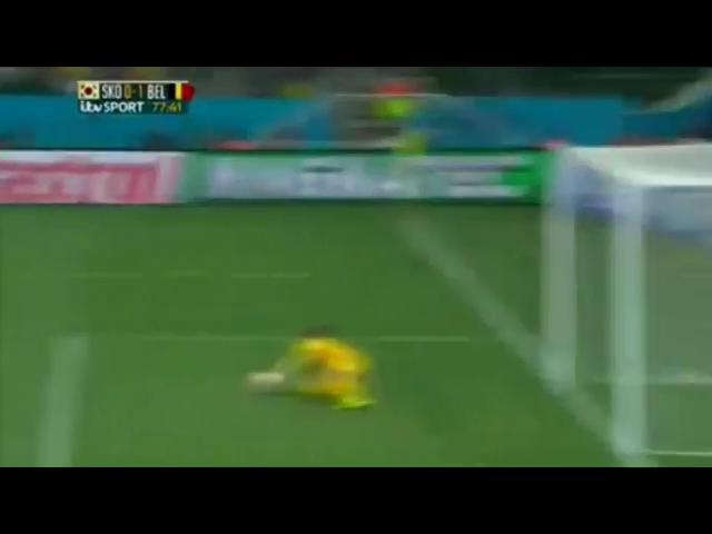 Korea Republic 0-1 Belgium - Golo de J. Vertonghen (77min)