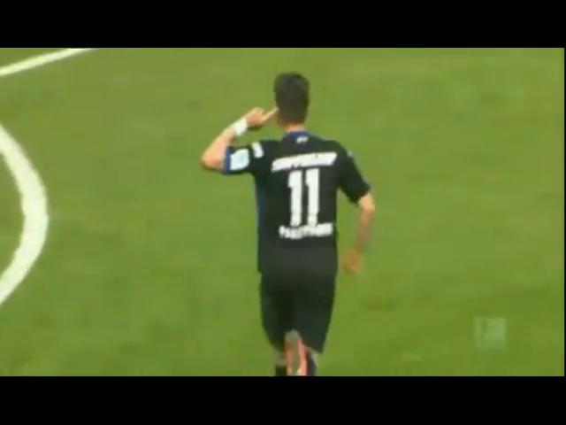 Paderborn 2-0 Hannover 96 - Golo de M. Stoppelkamp (90+3min)