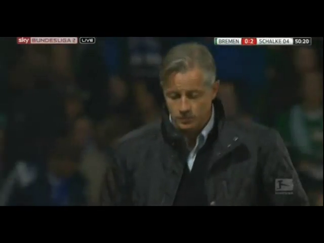 Werder Bremen 0-3 Schalke 04 - Golo de R. Neustädter (51min)