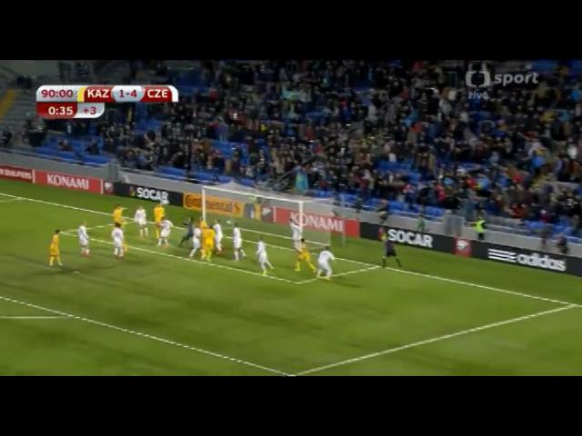 Kazakhstan 2-4 Czech Republic - Golo de Y. Logvinenko (90+1min)
