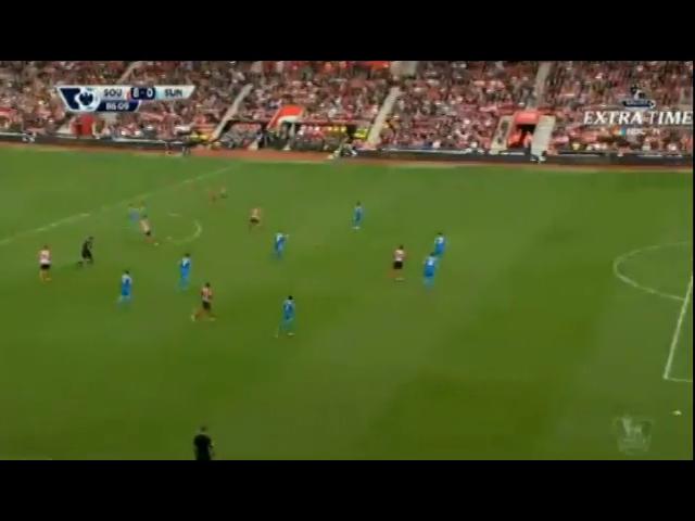 Southampton 8-0 Sunderland - Golo de D. Tadić (78min)