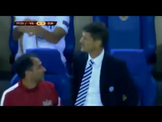 Villarreal 4-1 Zürich - Golo de G. dos Santos (78min)