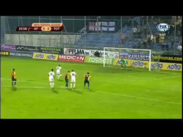 Asteras Tripolis 1-2 Tottenham Hotspur - Golo de A. Townsend (36min)