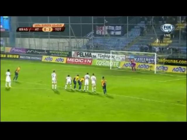 Asteras Tripolis 1-2 Tottenham Hotspur - Golo de J. Barrales (90min)