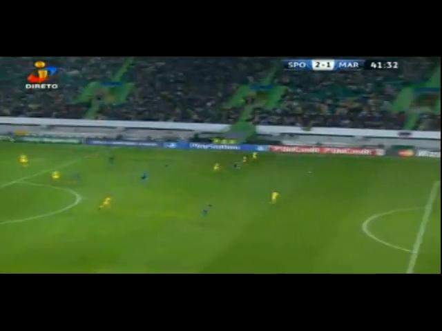 Sporting CP 3-1 Maribor - Golo de Jefferson (42min)