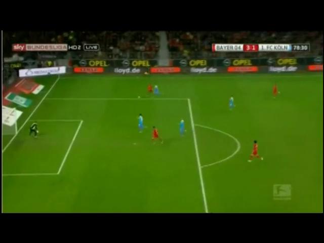 J. Drmic 79' - Bayer Leverkusen vs Köln