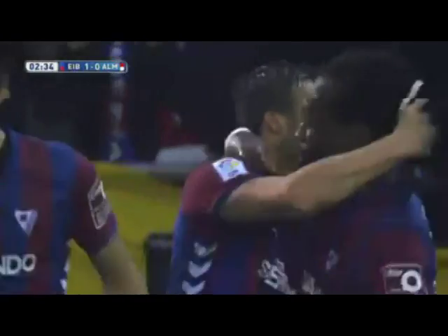 F. Piovaccari 3' - Eibar vs Almería