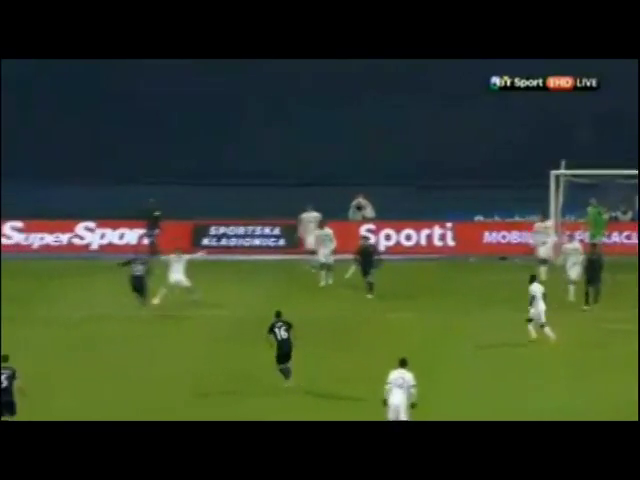 Dinamo Zagreb 4-3 Celtic - Gól de M. Pjaca (39min)