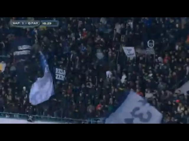 Napoli 2-0 Parma - Golo de D. Zapata (19min)