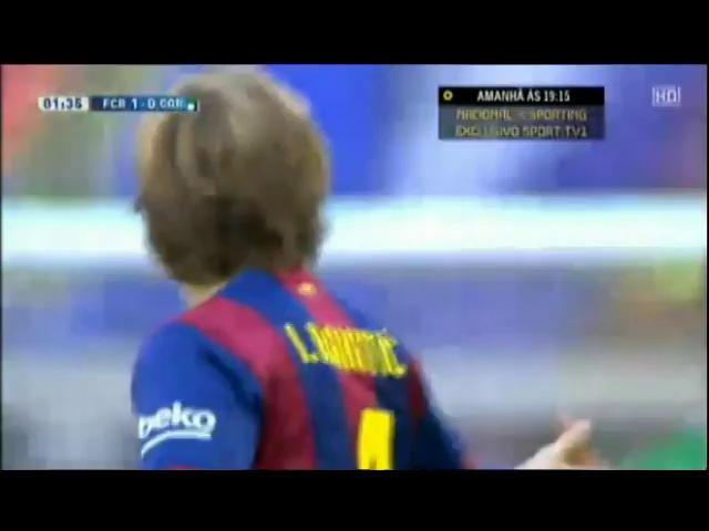 Barcelona 5-0 Córdoba - Golo de Pedro (2min)