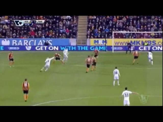 Hull 0-1 Swansea - Gól de Sung-Yong Ki (15min)