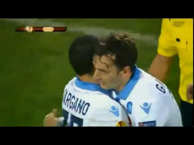 Trabzonspor 0-4 Napoli - Golo de M. Gabbiadini (27min)