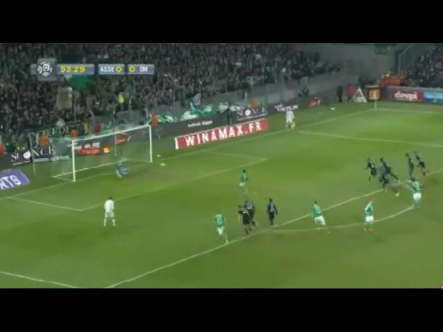 Saint-Étienne 2-2 Olympique Marseille - Golo de M. Gradel (54min)