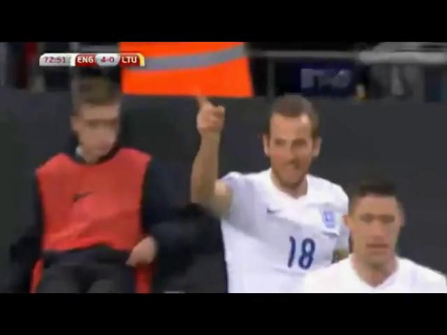 England 4-0 Lithuania - Golo de H. Kane (73min)