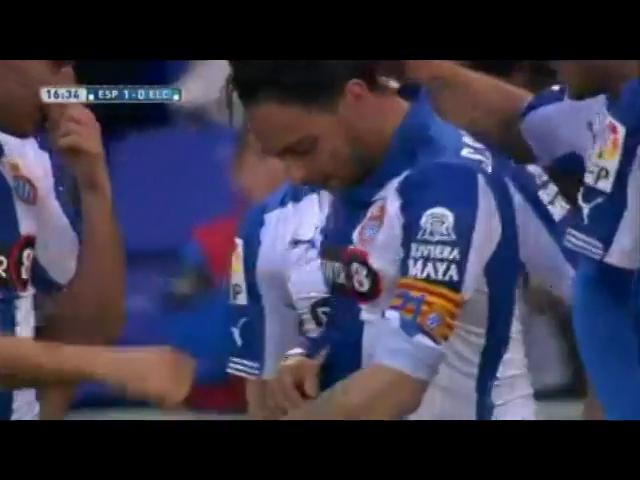 Espanyol 1-1 Elche - Golo de Sergio García (17min)