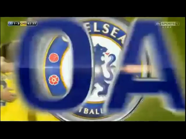 Leicester City 1-3 Chelsea - Golo de D. Drogba (48min)