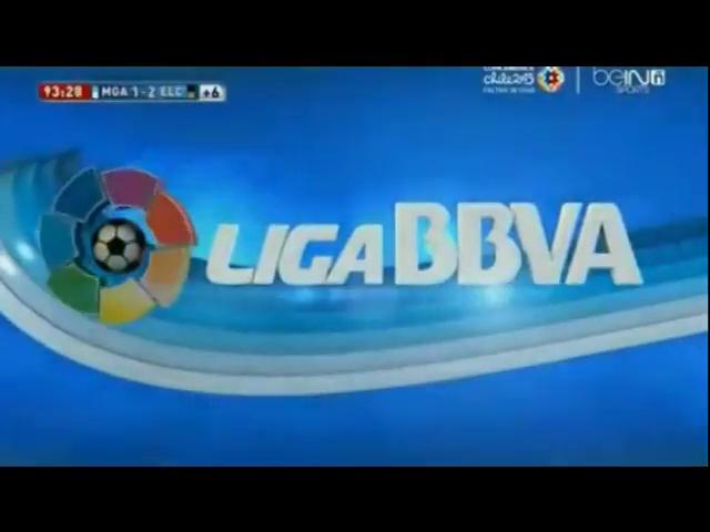 Málaga 1-2 Elche - Golo de M. Pašalić (89min)