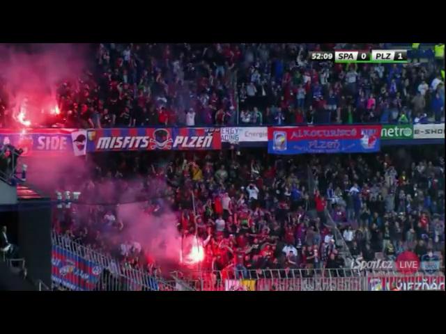 Sparta Praha 0-2 Viktoria Plzeň - Golo de J. Holenda (52min)