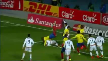 Resumo: Mexico 1-2 Ecuador (19 Junho 2015)