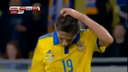 Resumo: Ukraine 3-1 Belarus (5 Setembro 2015)