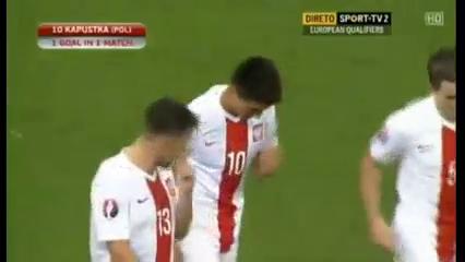 Resumo: Poland 8-1 Gibraltar (7 Setembro 2015)