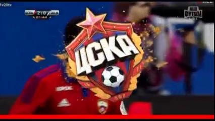 CSKA Moskva 2-2 Zenit - Golo de S. Doumbia (22min)