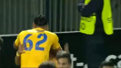 Asteras Tripolis 1-1 Sparta Praha - Golo de P. Mazza (2min)