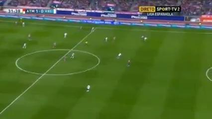 Atlético Madrid 2-1 Valencia - Golo de J. Martínez (32min)