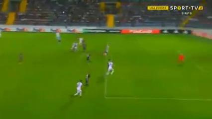 Qarabağ 2-2 Slovan Liberec - Golo de M. Baroš (68min)